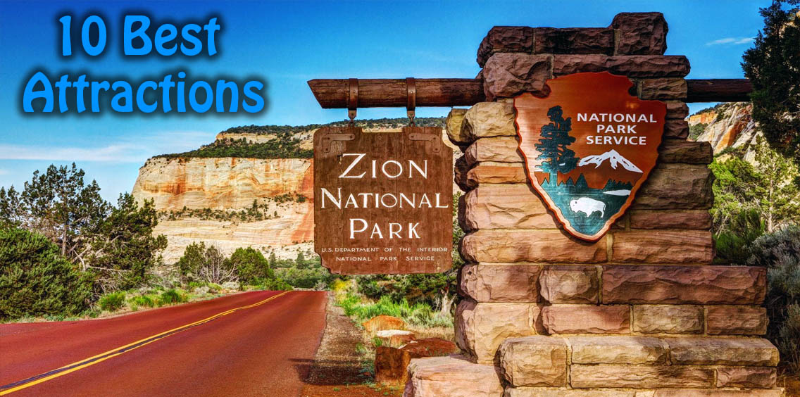Zion National Park Best View, USA Attractions